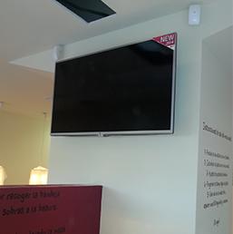 Venta e Instalación de televisiones y monitores comerciales